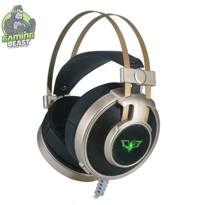 Wired Glitter Bass Wired Microphone Computer Gaming Headphone