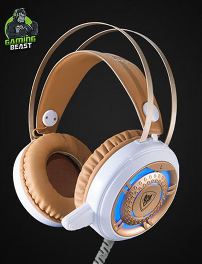 Wired Glitter Stereo Gaming Computer Gaming Headphones