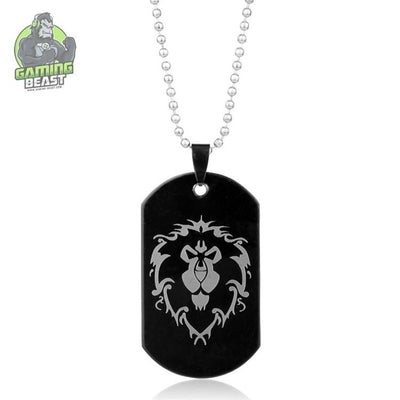 The Limited Edition World of Warcraft Sign Zinc Alloy Necklace
