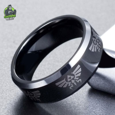 Limited Edition WThe Legend of Zelda Tungsten Steel Ring