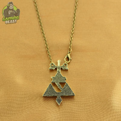 Limited Edition Legend of Zelda Gold Plated Necklace