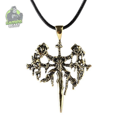 World of Warcraft Frozen Throne Sign Necklace and Brooch
