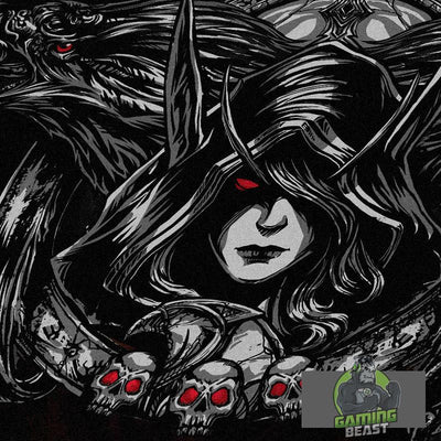 World of Warcraft Sylvanas Windrunner Printing Fashion T-shirt