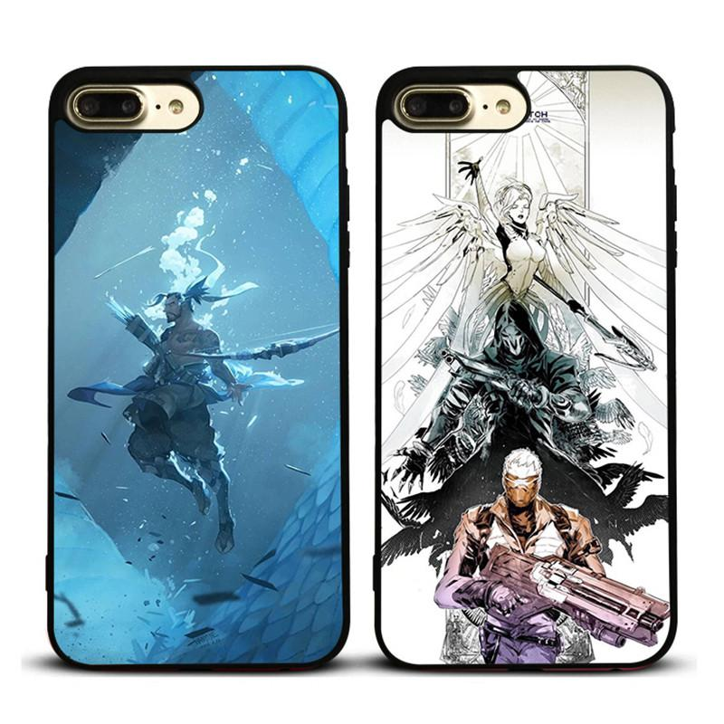 quality design c570d b3484 Overwatch Personality Phone Case for IPhone