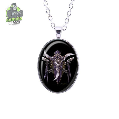 World of Warcraft Horde Sign Fashion Gemstone Necklace