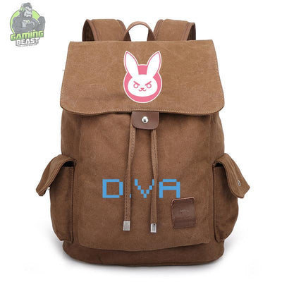 Limited Edition Overwatch Printed Canvas Backpack