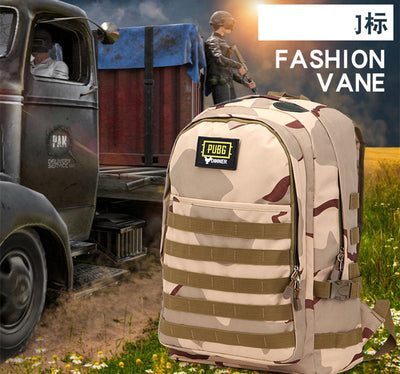 PLAYERUNKNOWN'S BATTLEGROUNDS Waterproof Camouflage Computer Shoulder Backpack