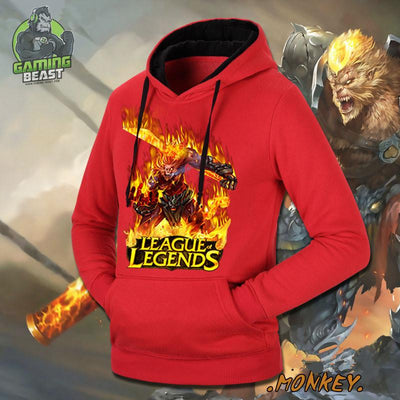 The Limited Edition LOL Monkey King Cotton Hoodie