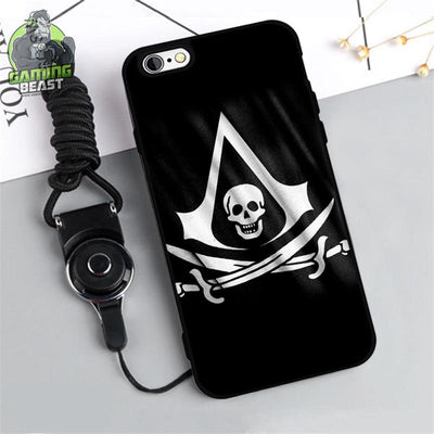 Assassin's Creed Personality Fashion Soft Glue Phone Case for iPhone