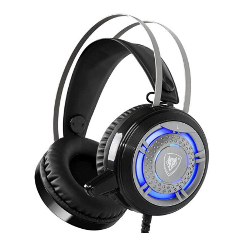 Gaming Beast Stereo Bass Noise Canceling LED Light Gaming Headset