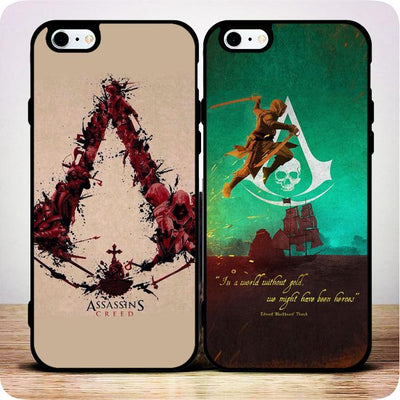 Assassin's Creed Sign  Personality Phone Case for IPhone