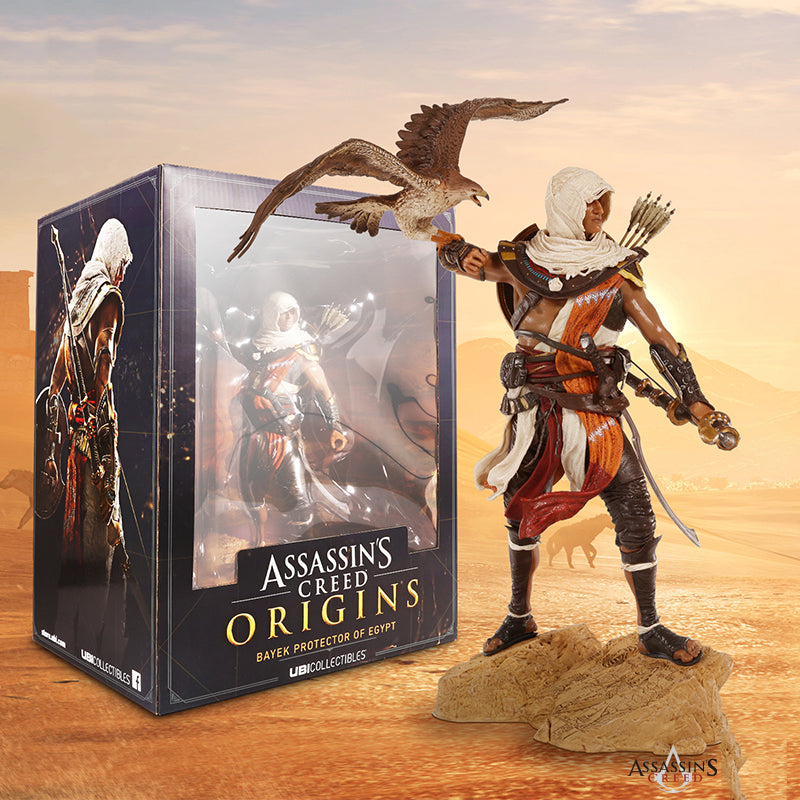 Limited Edition Assassin S Creed Origins Bayek Figure Gaming Beast