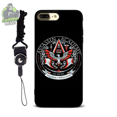 Assassin's Creed Fashion Soft Glue Phone Case for Iphone