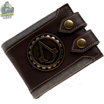 Copy of Assassin's Creed Men Vintage Leather Wallet