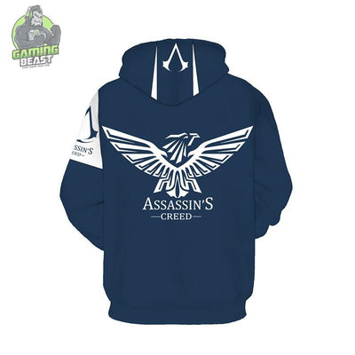 Copy of Assassin's Creed Fashion 3D Print Hoodie