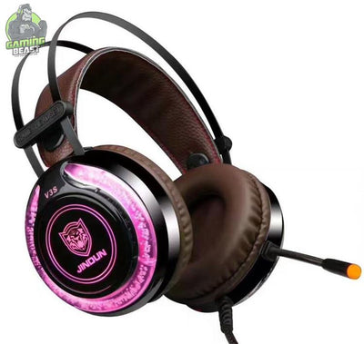 Glitter Gaming Computer Gaming Headphones  with Microphone