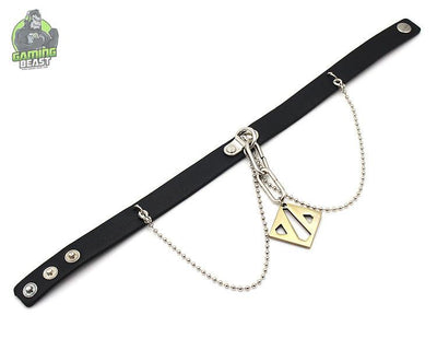 Assassin's Creed Leather Cosplay Choker Necklace