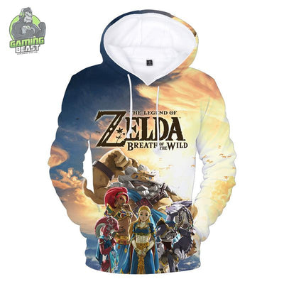 The Legend of Zelda Fashion 3d Printing Hoodie