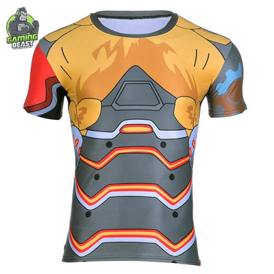 Limited Edition Overwatch Slim Round Neck T-shirt