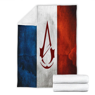 Assassins's Creed France Premium Blanket