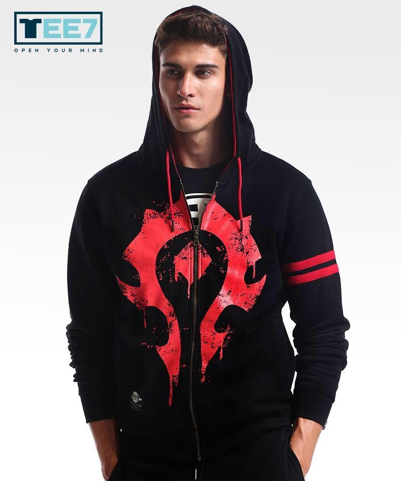 LIMITED EDITION - WOW HORDE ZIPPER HOODIE
