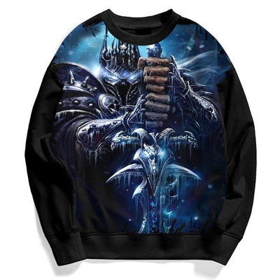 LIMITED EDITION - WORLD OF WARCRAFT LONGSLEEVE HOODIE