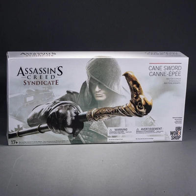 ASSASSIN'S CREED GAUNTLET AND SYNDICATE SWORD CANE WEAPON SET - LIMITED EDITION