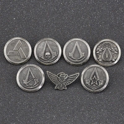 Exclusive Assassin's Creed Epic Metal Brooches