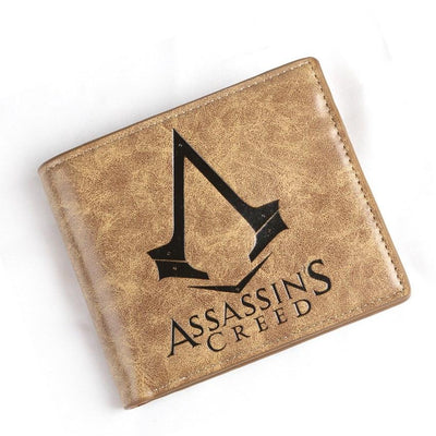 1# Top Seller - Assassin's Creed Desmond High Quality Leather Wallet