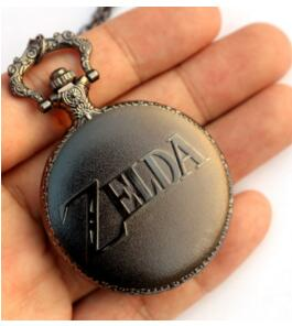 The Legend of Zelda Bronze Pocket Watch Analog