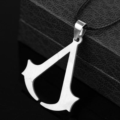 Exclusive Bestseller Assassin's Creed Leather Necklace