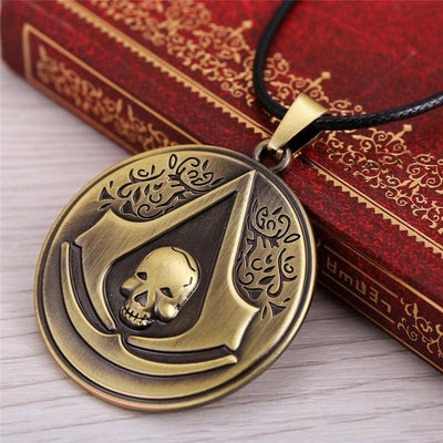 Assassin's Creed Scull Necklace