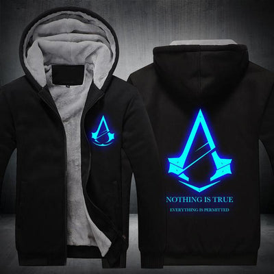 New Exclusive Assassin's Creed  |  Glow At Night Hoodie