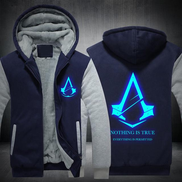 New Exclusive Assassin S Creed Glow At Night Hoodie Gaming Beast