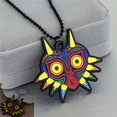The Legend of Zelda owl Black necklace keychain cosplay costume Accessories Pendant