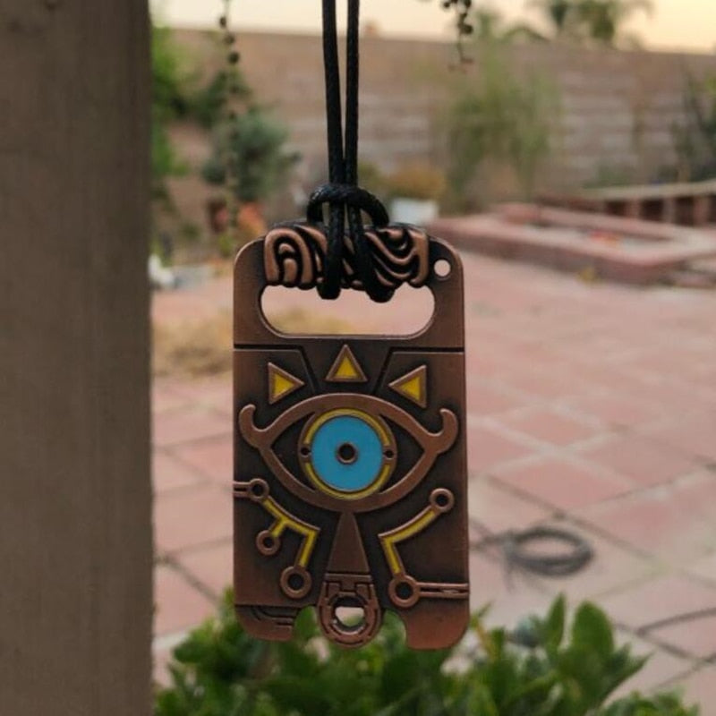 The Legend of Zelda Sheikah Slate Breath of the Wild Keychain