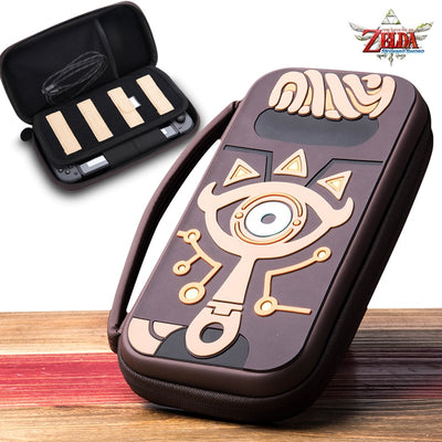 The Legend of Zelda Sheikah Slate Carrying Storage Bag Switch Water-resistent Case Bags Silica Gel