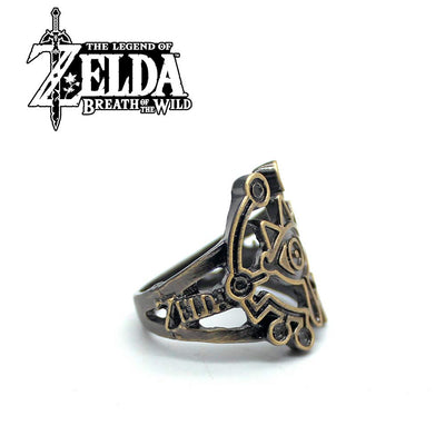 The Legend of Zelda Breath of the Wild Metal Ring Finger Rings
