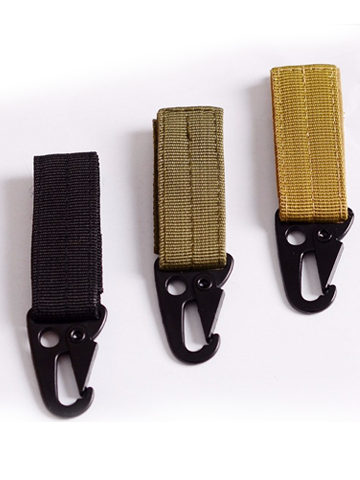 Tactical MOLLE Buckle Carabiner