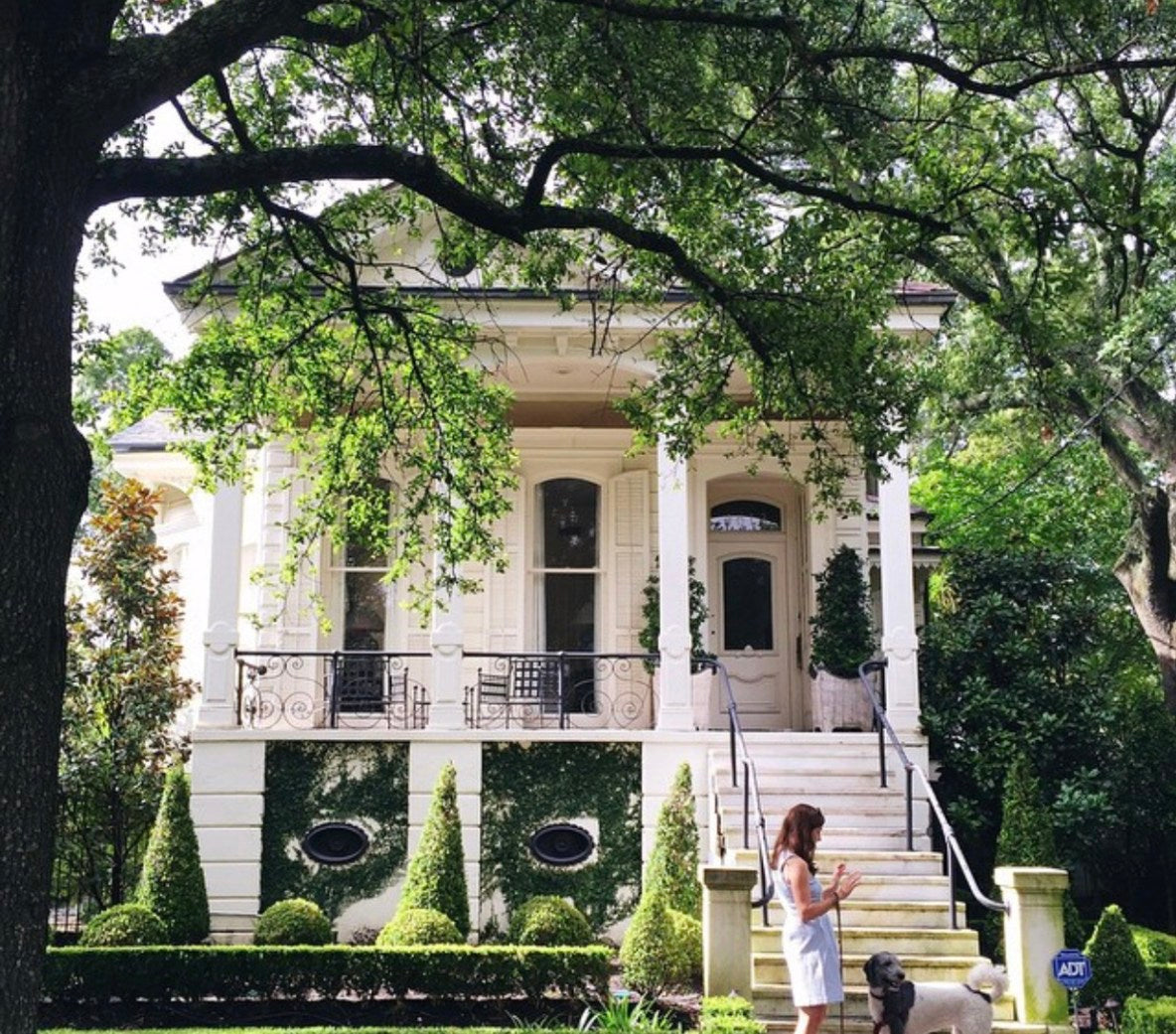 February 2018: Let's Take A Walk Around The Neighborhood: Southern Exteriors