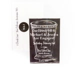 Chalk Mint Julep Invitations || Southern Cocktail Party Invitations || Kentucky Derby Inspiration