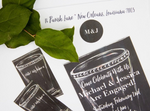Chalkboard Mint Julep Cup Invitations || Southern Cocktail Party Invitations || Kentucky Derby Inspiration - Old Southern Charm
