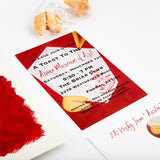 Chinese Take-Out Box Themed Invitations || Asian Inspired Party Invitations