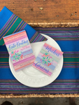 Floral Otomi Print Invitation || Mexican Fiesta Inspired Party Invitation - Old Southern Charm