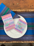Floral Otomi Stationery || Mexican Fiesta Inspired Thank You Notes - Old Southern Charm