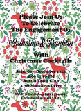Holiday Otomi Invitation - Old Southern Charm