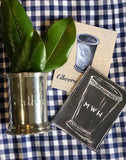 Chalkboard Mint Julep Cup Stationery || Bar Shower Thank You Notes || Southern Cocktail Party Inspired Stationery - Old Southern Charm