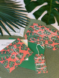 Palm Beach Leaves Stationery || Greenery Inspired Thank You Notes - Old Southern Charm