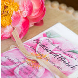 Pretty Pink Peony Invitation || Floral Bridesmaids Shower || Bridal Brunch || Spring Garden Party