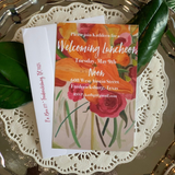 Watercolor Floral Invitation || Spring Flower Invitation - Old Southern Charm